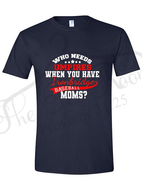 Personalized Baseball Moms Tee