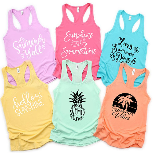 Design Your Own Summer Tank