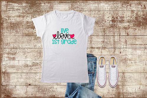 Live Love Grade Level Tee