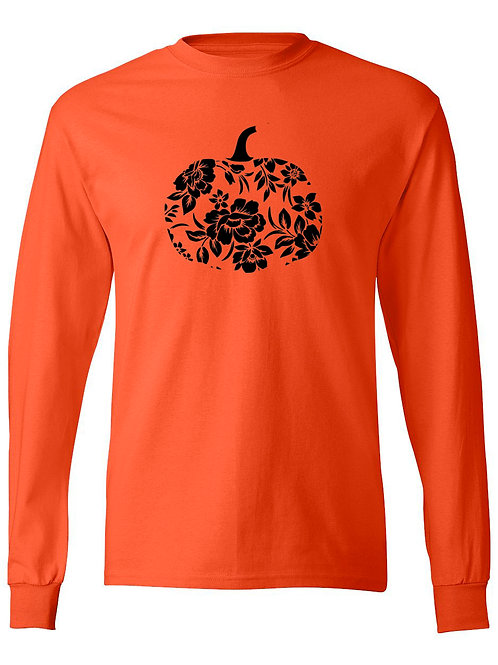 Floral Pumpkin Long Sleeve