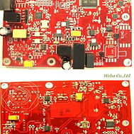 Red Color PCB Assembly