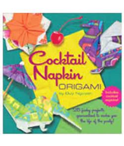 Cocktail Napkin Origami