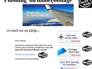 "L'hameçonnage ou ""phishing"""