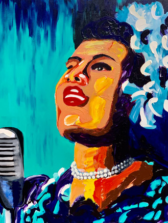 Billie Holiday - Commisioned by Southern Blues Restaurant