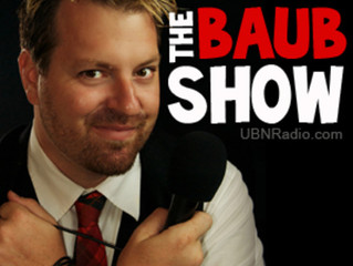Josh and Kate on The Baub Show