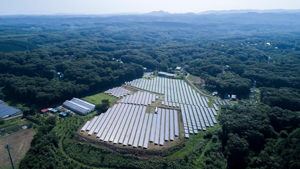 Nasu Toyohara 1 Photovoltaic Power Plant, Tochigi Prefecture, Japan | Shizen Energy | World Climate Summit - The Investment COP