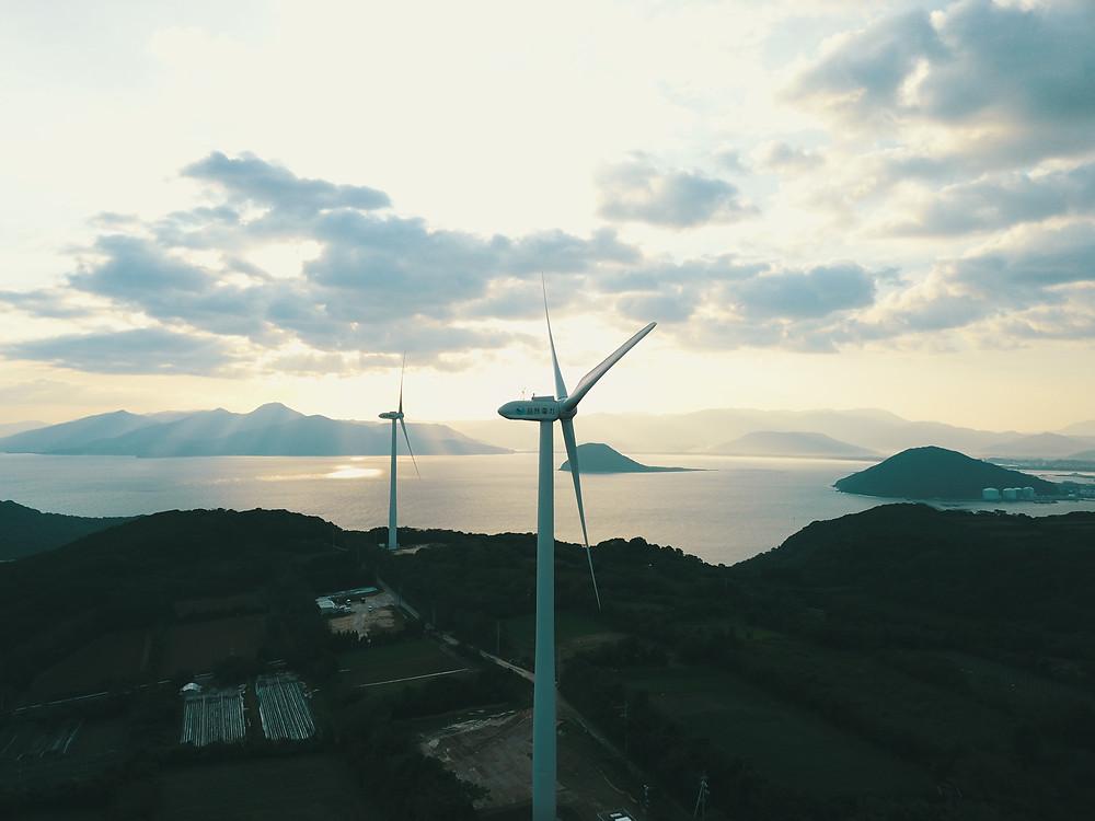Karatsu Minato Wind Power Plant, Saga Prefecture, Japan | Shizen Energy | World Climate Summit - The Investment COP