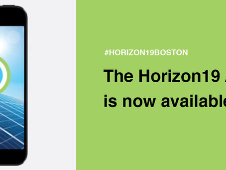 Start Networking in Advance of Horizon19!
