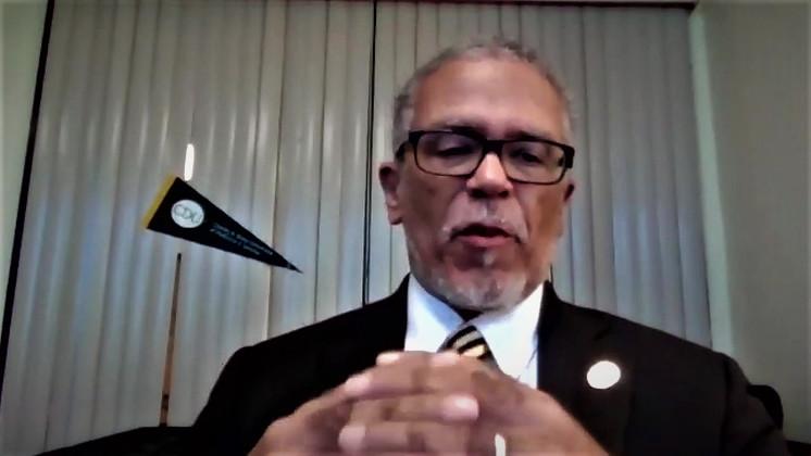 Dr. David Carlisle, MD, PhD.