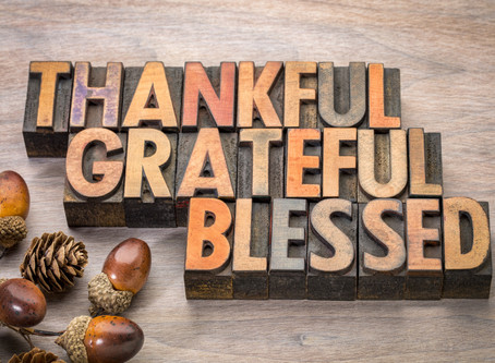 There's so much to be thankful for, isn't there?