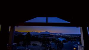 Timelapse DeFlicker-Granite Mountain Porch View