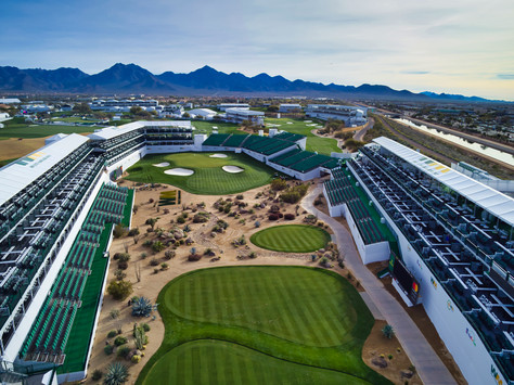 16th hole Extreme Aerial and the Phoenix