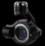 DJI Inspire 2 drone lens equipment
