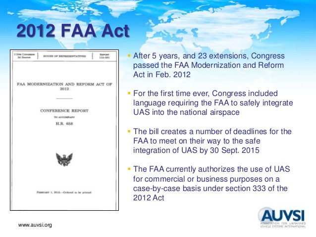 2012 FAA Modernization and Reform Act