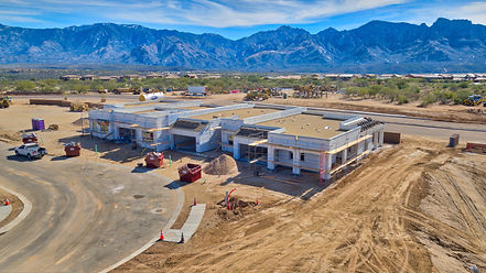 areal drone image of Home Builders arizona