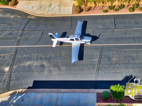 Cirrus Airplane at Stellar AirPark