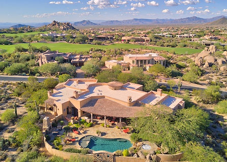 Real Estate drone photogrphy, areal image arizona
