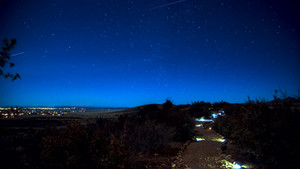 Timelapse DeFlicker-Prescott Path stars