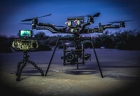 Tv and Corporate Prdutions drone equipment