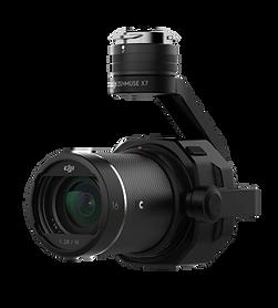 DJI Inspire 2 drone lens & mount