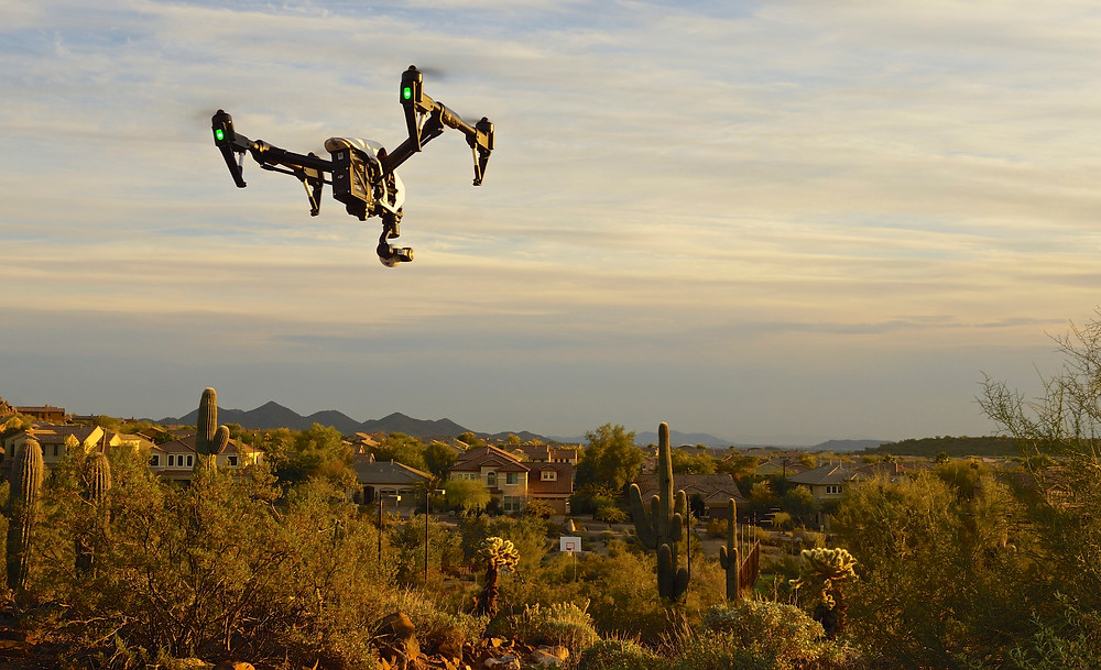 Extreme aerial Productions Inspire 1