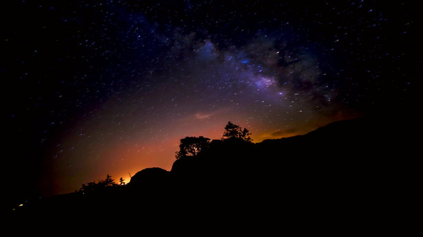 Timelapse DeFlicker-Prescott Milky way moving