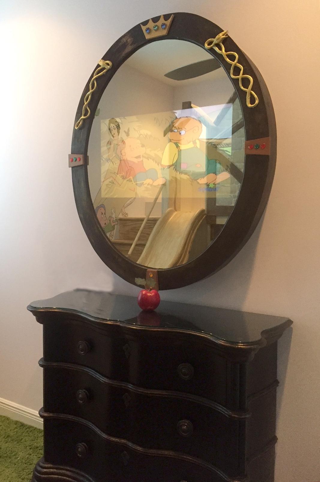 IMG_3652 Blackie Snow White Mirror- Iphone Lighter