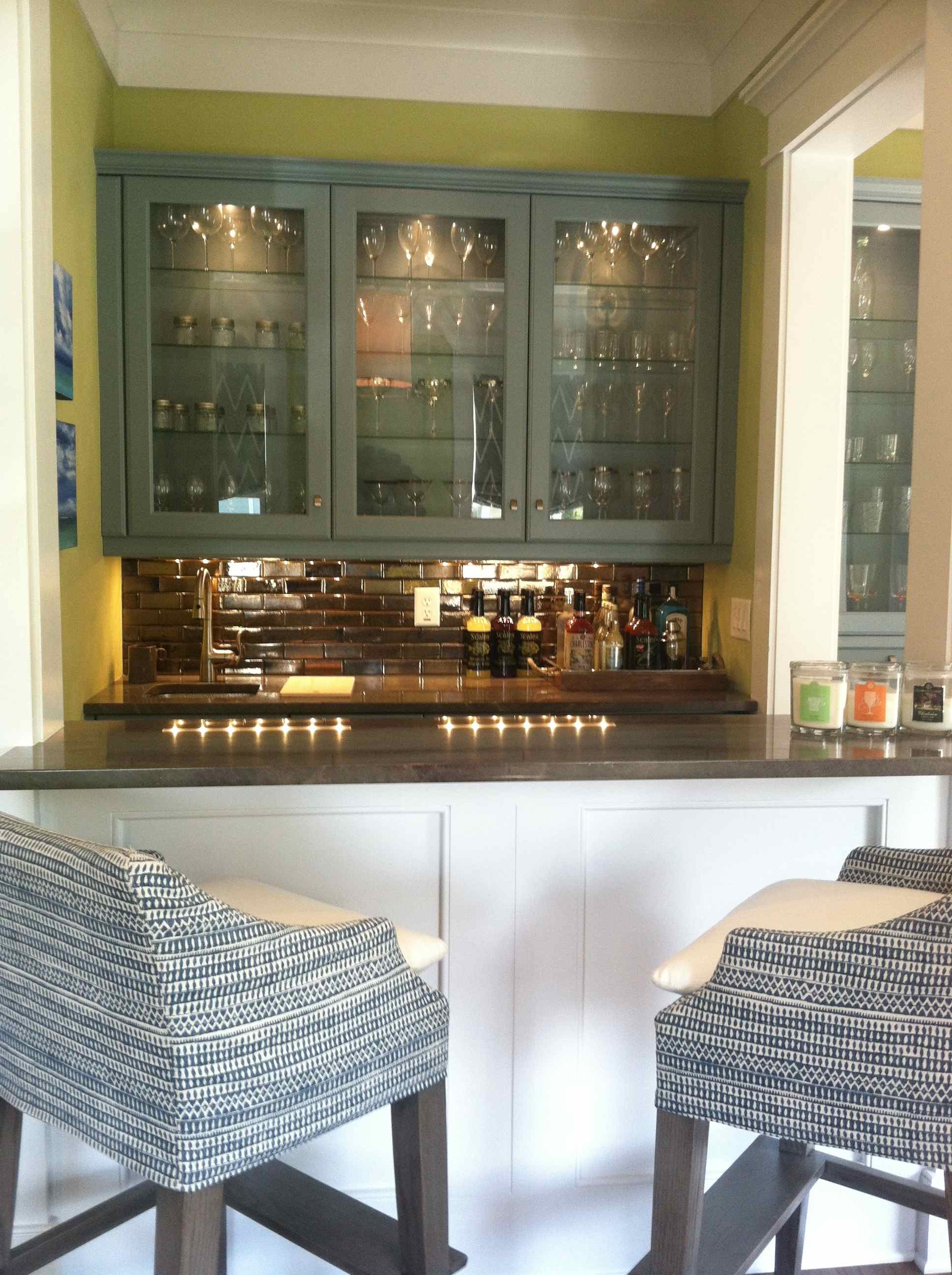 Bar area detail