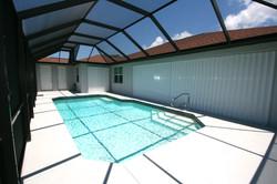 Large pool & Lanai area