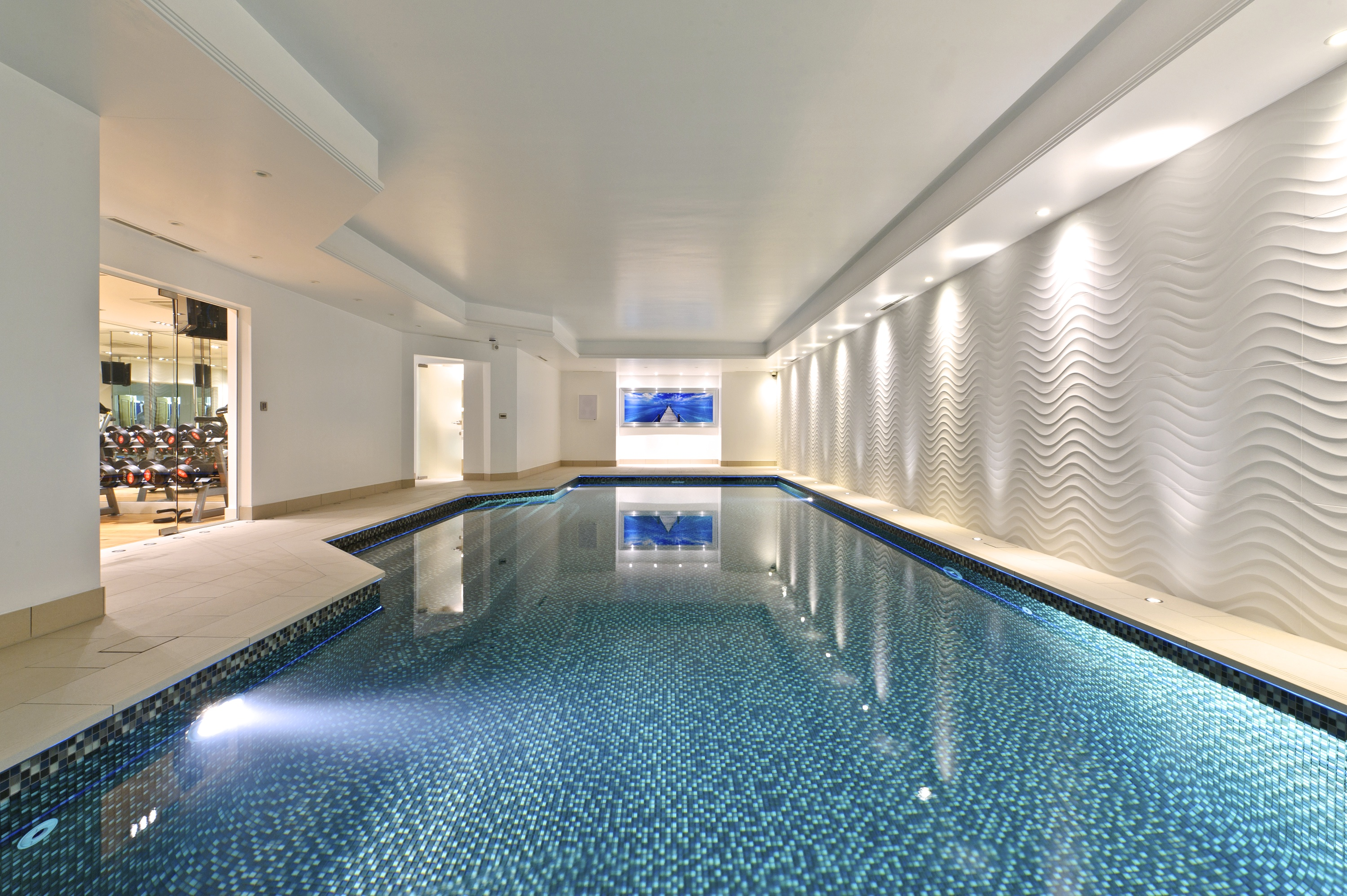 Custom swimming indoor swimming pool