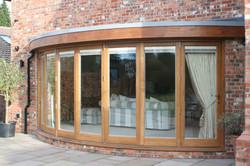 Rear Custom patio doors