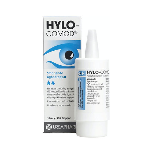 HyloComod ögondroppar