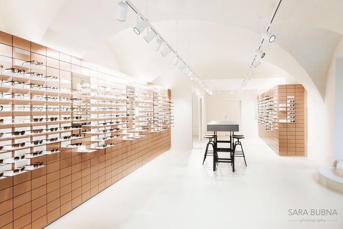 Architektur / Shop Fotografie für VIU Eyewear