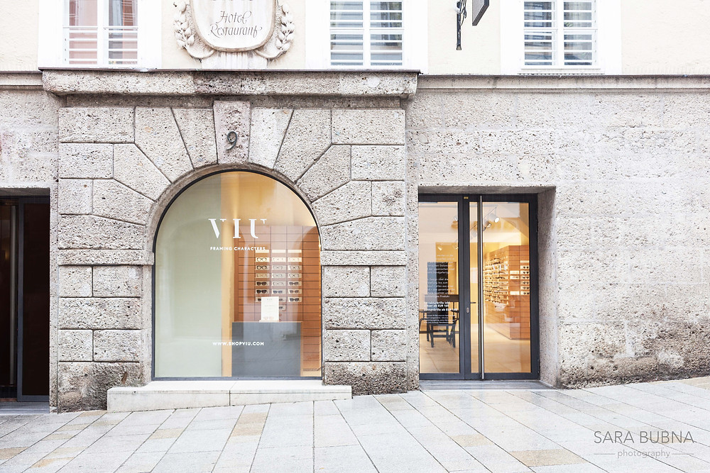 Architektur Fotografie, VIU Eyewear, Berufsfotografin, QAP, EP, Meisterfotograf, Salzburg, Fotostudio, Leopoldskron, Werbefotografie, SARA BUBNA photography