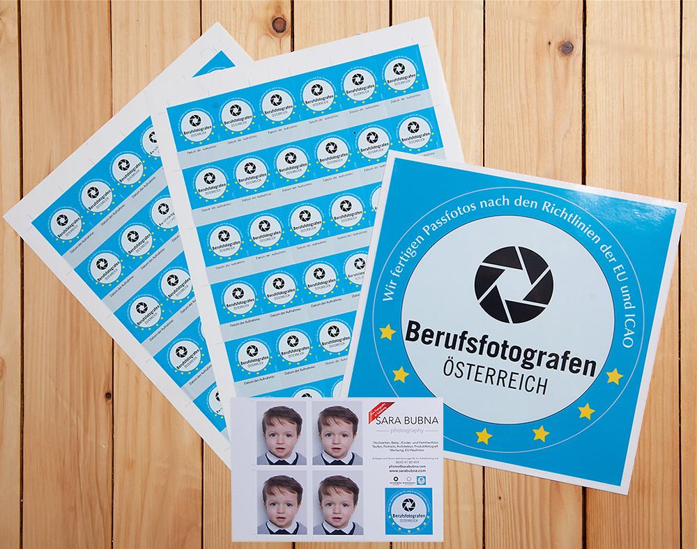 EU Reisepass; biometrische Passfotos; Passfotos, Fotograf Passfotos Salzburg, Passbilder; Berufsfotografen Salzburg; QAP; Fotostudio; Sara Bubna photography; Sara Bubna