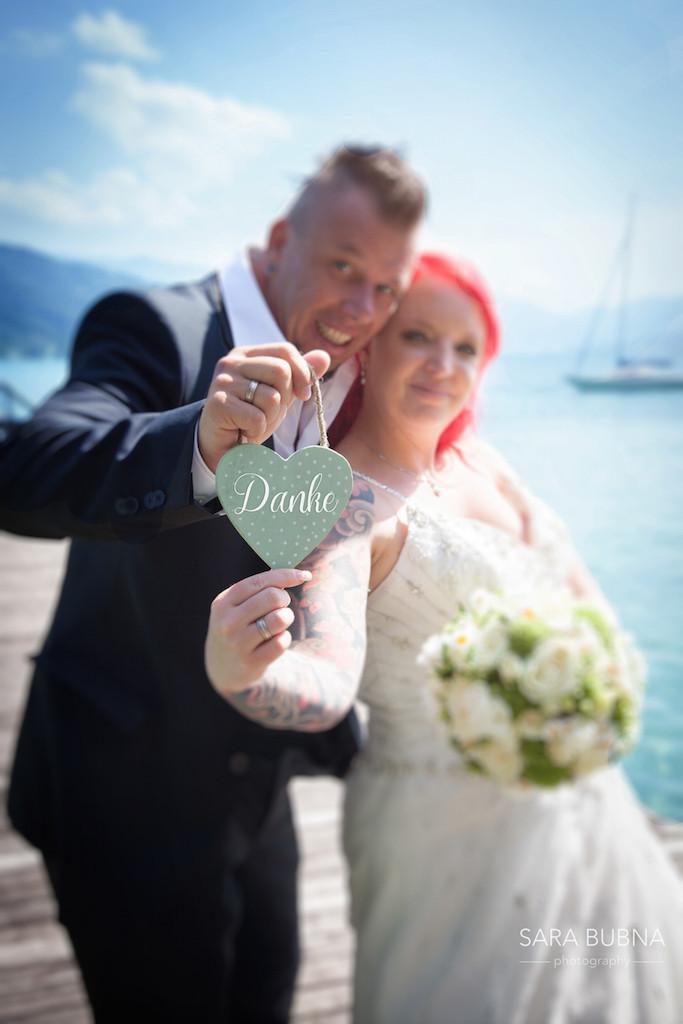 Stephanie & Hannes haben sich getraut!