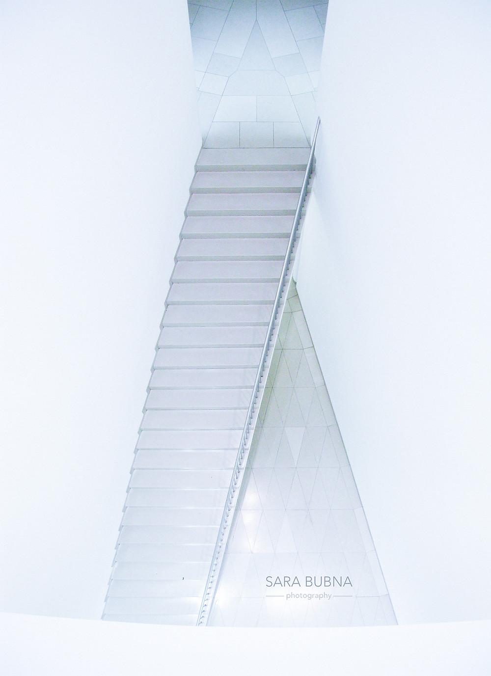 SARA BUBNA photography im MMK Museum in Frankfurt, Architektur Fotografie