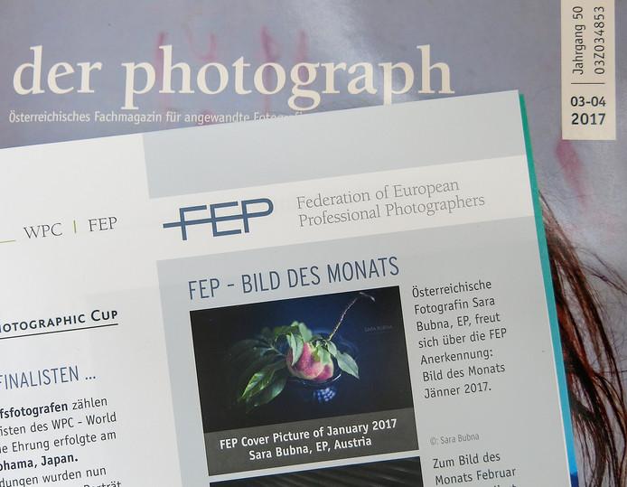 Österreichisches Fachmagazin für angewandte Fotografie 'der photograph'