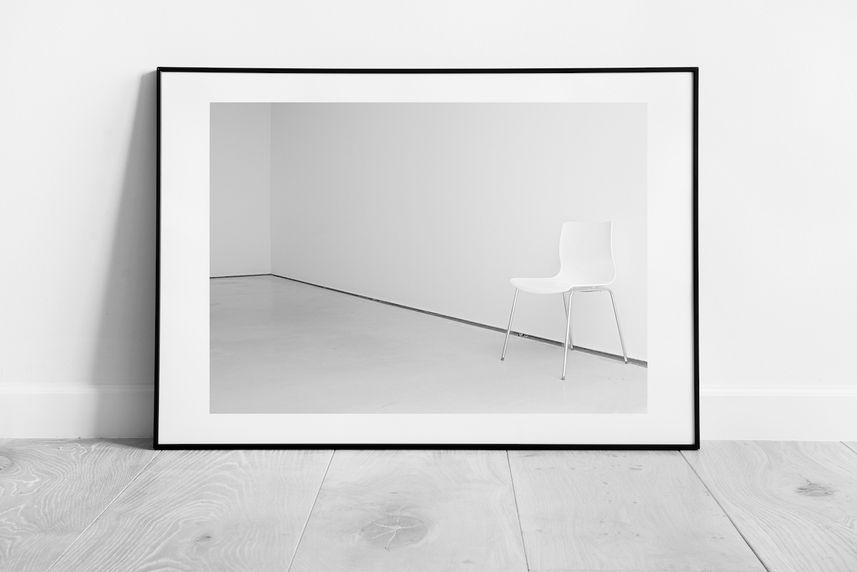 'white chair'