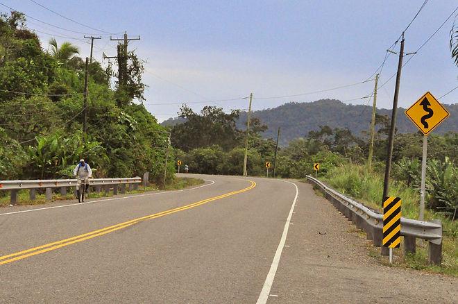 Hummingbird Highway in Stann Creek District, Belize