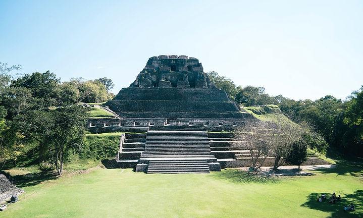 Belize Mayan Ruins at Xunantunich Mayan Site in Cayo District