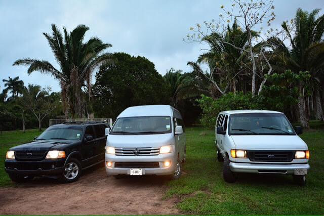 Belize Ground Shuttles with Julian Shuttles and Transfers
