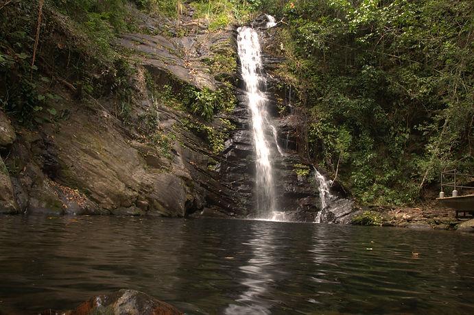 Waterfalls in southern Belize .NEF