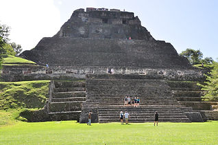Xunantunich Mayan Ruins in Cayo District Belize