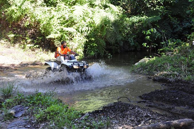 Belize ATV Jungle ride