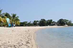 Placencia Village Beach.JPG