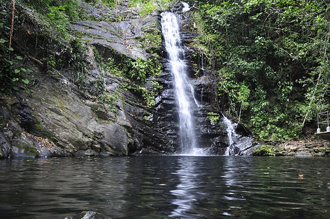 Belize Waterfalls in southern Belize