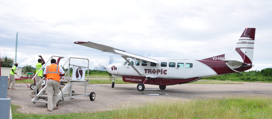 Getting from BZE Airport to Hopkins Village