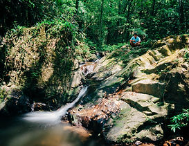 Cockscomb Basin Wildlife Sanctuary Waterfalls southern Belize.jpg