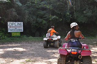ATV ride in Belize Mayan Mountains